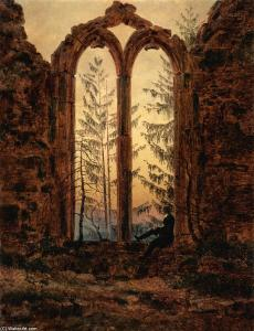 Caspar-David-Friedrich-The-dreamer
